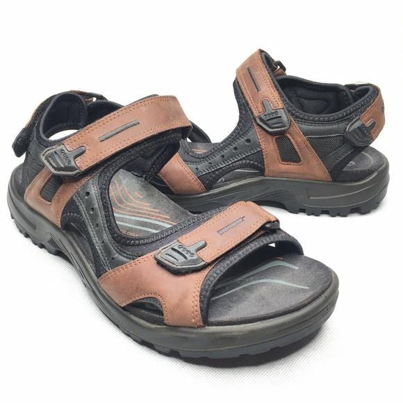 Ecco Other - ECCO Yucatan Sport Sandal Brown Black Leather